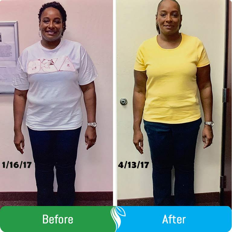 """January 16, 2017 was the start of a new beginning. I decided I would invest in myself! My decision to join Dr. Meena's weight management program was a great way to begin the New Year. Dr. Meena has provided me with the tools necessary to finally achieve total body weight loss results. Surely you think you've tried one diet you've tried it all. Wrong!!!  Joining this program has definitely shown me that all you need is a willing heart and a open mind and you too can lose the desired weight you've often thought about. If you're willing to step out on faith, trust yourself and Dr. Meena, you too will look in the mirror and say wow!!  I don't look at this program as a diet but more as a way of life. The products are tasty and filling, and you have a variety of options to choose from to avoid getting bored on your new journey. Seeing results early on and being held accountable has helped me to stay the course. 10 weeks into the program and down 35 lbs is an amazing feeling.  Thanks Dr. Meena, Bonnie, and Shantai for assisting me through this process. I look forward to continued success and a new way of living with the assistance of Dr. Meena. This has by far been the best investment I could have ever made. Thanks Dr. Meena. The journey to a new beginning continues!""  ""I decided on this program because I had previously been diagnosed with many health issues. My life was being heavily impacted by my weight. Along with high blood pressure, I was diagnosed with type II diabetes.  I learned about this program form a friend who had seen extremely effective results after only several weeks. When I began this program, I weighted 152 pounds, and was extremely unhealthy. Dr. Venugopal was exceptionally helpful at guiding me in what I was supposed to do, and emphasizing the impotance of following a strict diet regimen.  Gradually, I started losing weight, and after seven weeks lost 19 pounds. Throughout the process, Dr. Venugopal guided me toward my goals. Now, I am taking significantly reduced doses of my medication, and I feel healthy, energetic, and confident. My liver enzymes came back to completely normal leels, my diabetes and blood pressure are also well controlled with lower doses of medications. I would definitely recommend this program to prospective individuals."""