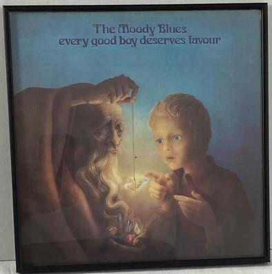 The Moody Blues every good boy deserves favour Framed Album