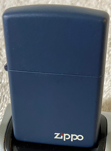 1990 Navy Blue Zippo