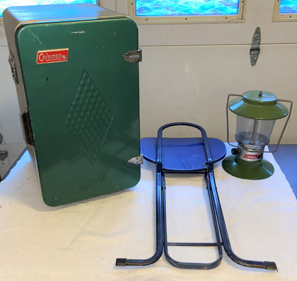 Vintage Camping Items