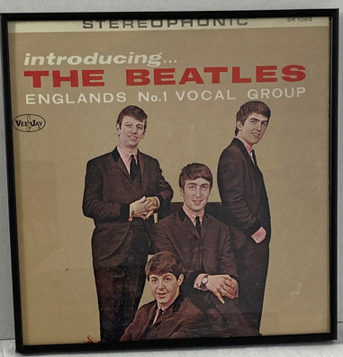 Introducing The Beatles - Vee Jay - Stereophonic Framed Album
