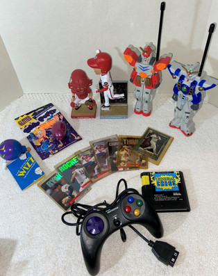 Mixed Toy and Bobble Head Lot