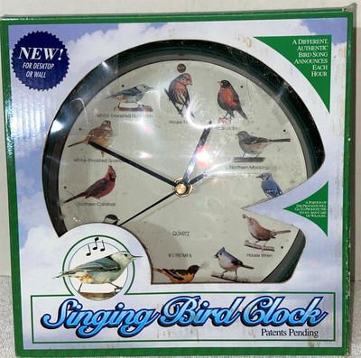 New 1997 MFA Singing Bird Clock