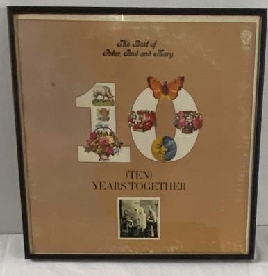 The Best of Peter Paul and Mary Framed Album