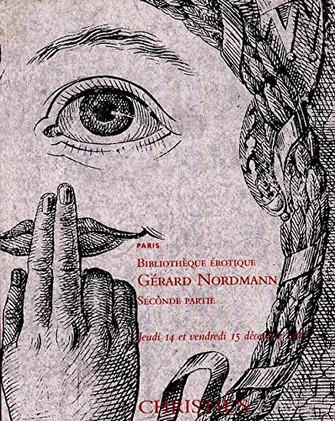 Christie's Bibliotheque Erotique Gerard Nordmann