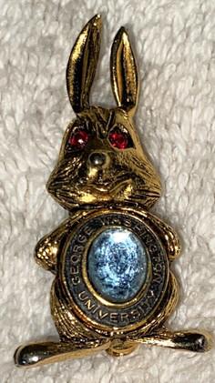 Rare Kinney George Washington University Rabbit