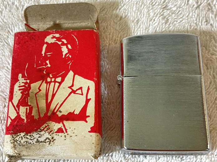 Vintage Penguin Lighter In Box