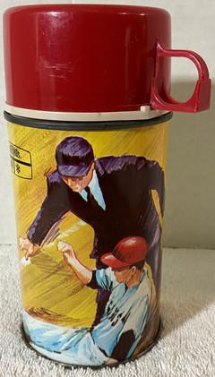 1969 King-Sealy Baseball Thermos