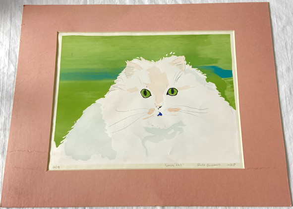 "1985 Reta Rickmers "" White Cat"" Limited Edition"