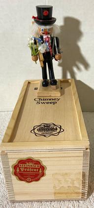 Steinbach Chimney Sweep In Wood Box #2072