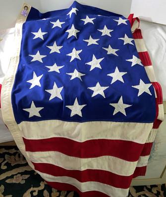 Valley Forge 9x5 Sewn Stars USA Flag