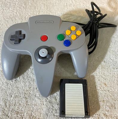 Nintendo 64 Controller With Memory Card