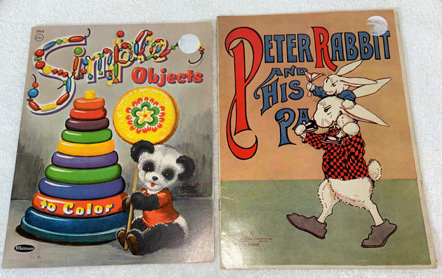 Two Vintage Childrens Books
