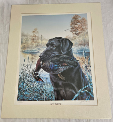 1985 Signed Limited Edition John Shaw Print