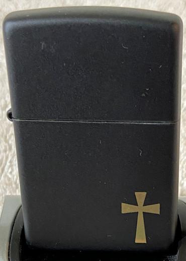 2014 Matte Black Gold Cross