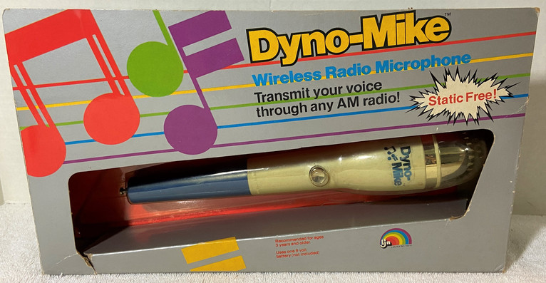 Vintage Ljn Dyno-Mike