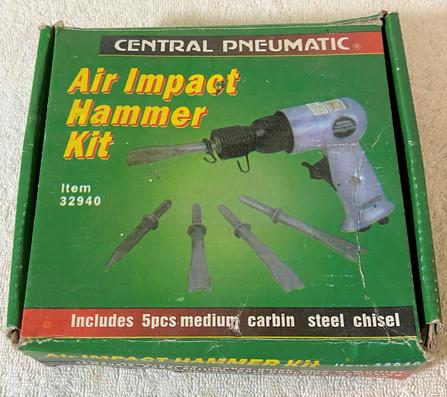 Central Pneaumatic Air Impact Hammer Kit