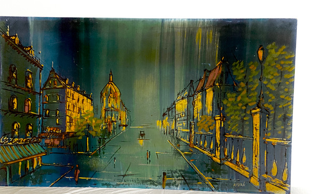 MCM Street Scene by Andre