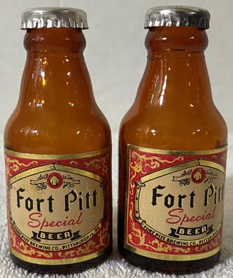 Vintage Fort Pitt Salt and Pepper Shaker