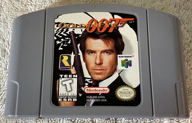 Nintendo 64 007 Golden Eye Game