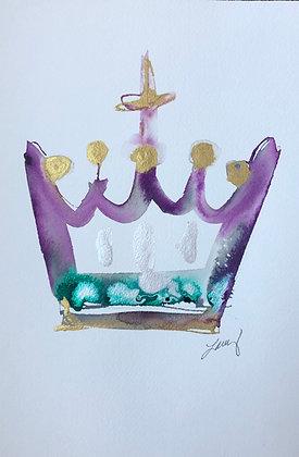 7 x 10 Crown- King IV