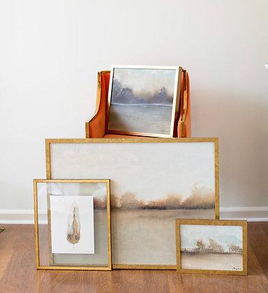 Framed Canvas Landscapes