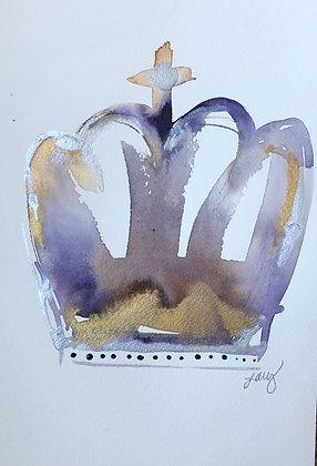7 x 10 Crown- Queen V