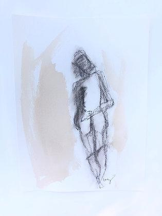 Charcoal Figure I