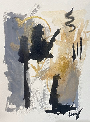COVID Watercolor Abstract Series 3