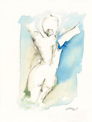 Blue Nude IV