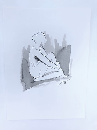 Pen and Ink Figure V