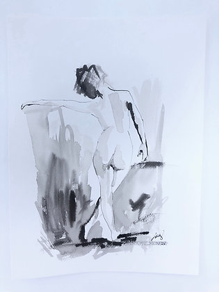 Pen and Ink Figure IV