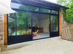 Rénovation d'une porcherie en jardin d'hiver