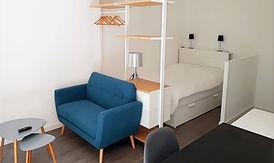 Rénovation appartement studio Rennes Bretagne