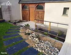 Aménagement exterieur terrasse