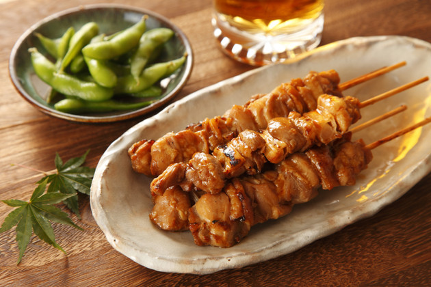 Chicken & Pork Skewers