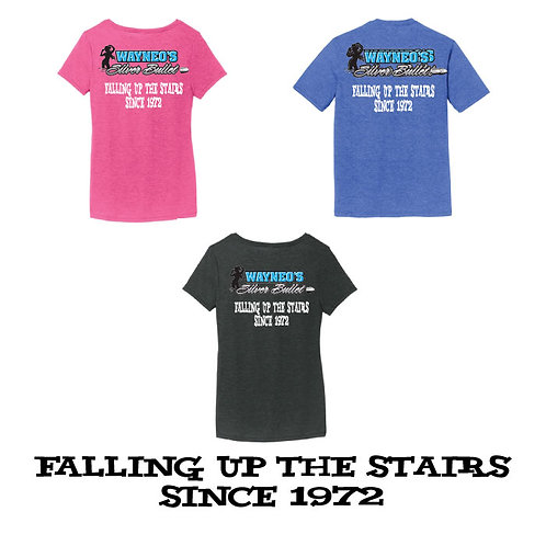 FALLING UP THE STAIRS SINCE 1972