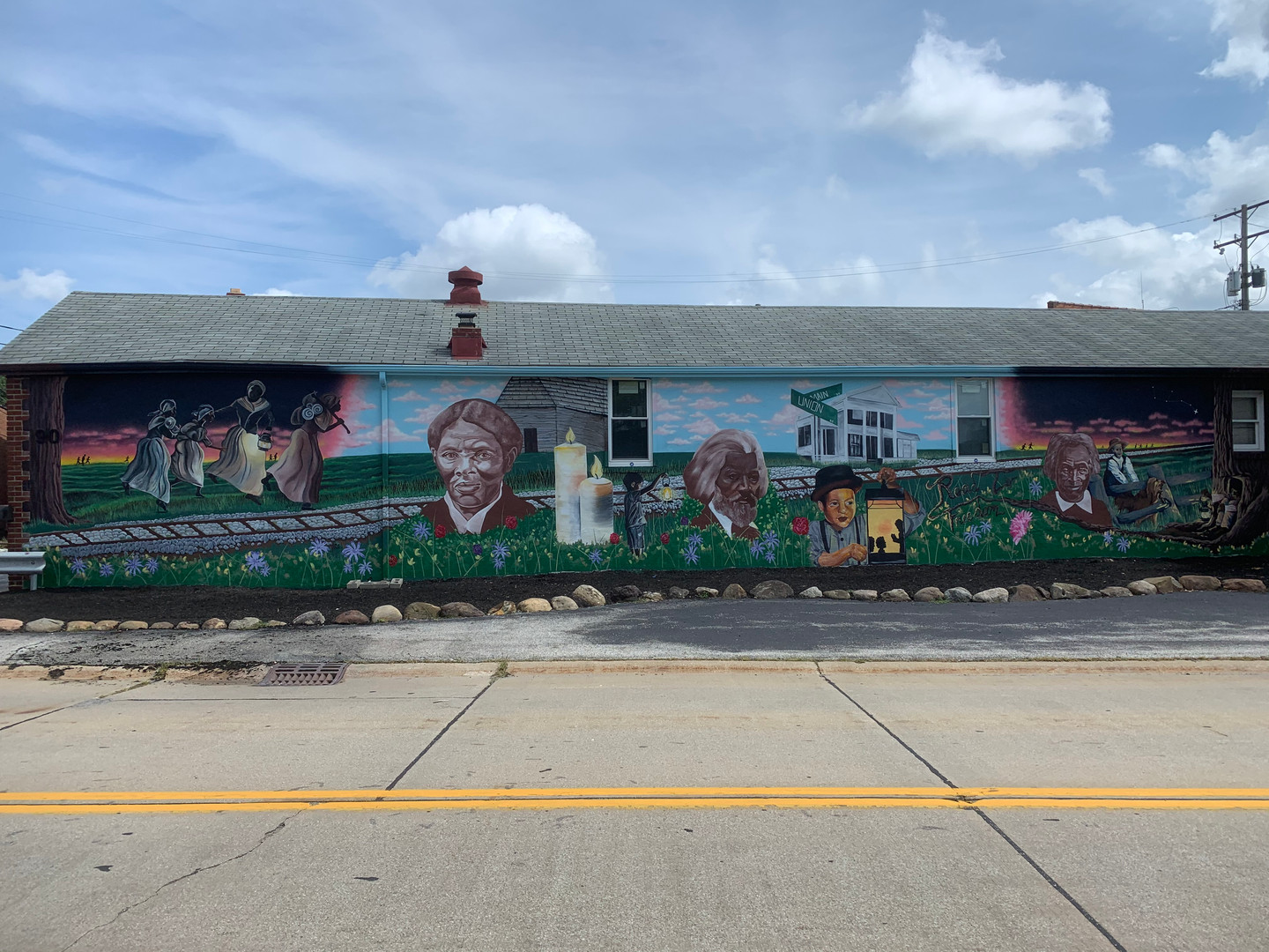 Road to Freedom Mural