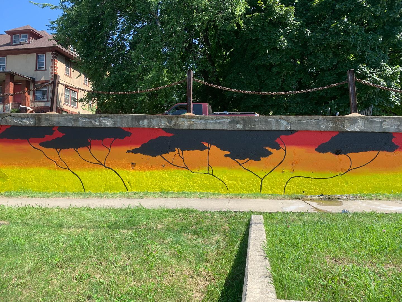 Euclid/Green Mural