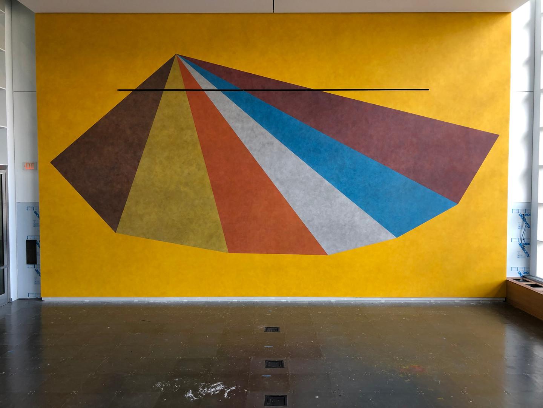 Sol Lewitt Mural #2