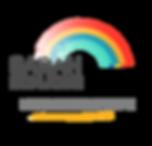 Logo de Sarah Bonjour, Arc en ciel, couleurs, hypnose, hypnothérapeute