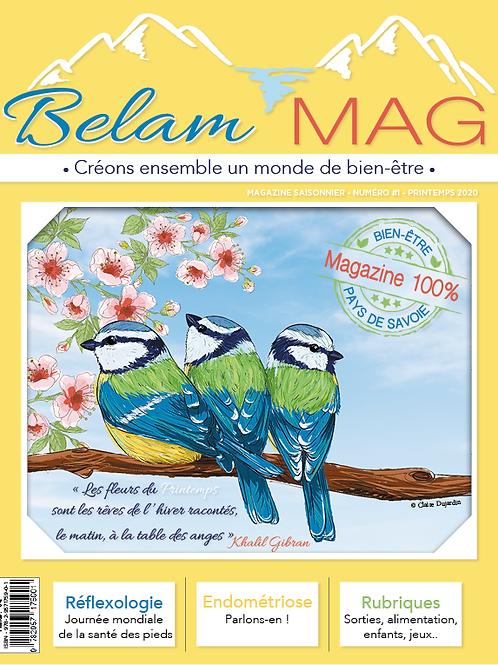 2 numéros Belam MAG Printemps #1 / Automne #3