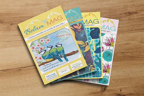Abonnement magazine Belam MAG - 4 numéros