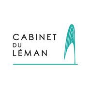 Logo du Cabinet du Léman par Claire Dujardin, graphiste PAO et web près d'Annecy
