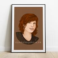 Illustration portrait - Illustratrice freelance pour indépendants