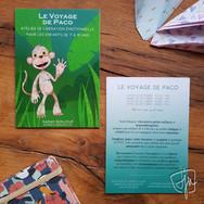 Flyer pour évènement - Graphiste indépendante en Haute-Savoie