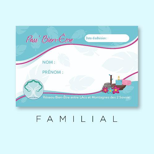 """Pass bien-être """"Familial"""""""