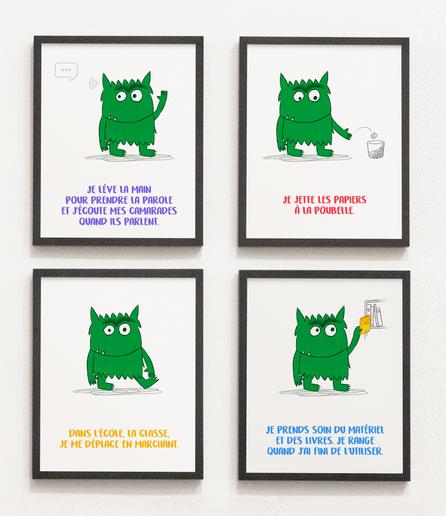 """D'après """"La couleur des émotions"""" d'Anna Llenas"""