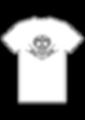Tshirt - Masque noir sur fond blanc