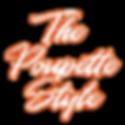 The Poupette Style logo